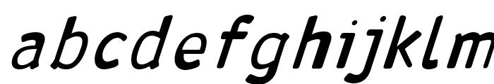 Antaviana BoldItalic Font LOWERCASE