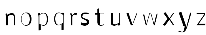 Antaviana Normal Font LOWERCASE