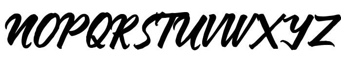 Anthares Demo Regular Font UPPERCASE