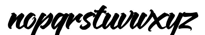 Anthares Demo Regular Font LOWERCASE