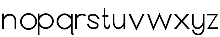 Anthro Font LOWERCASE