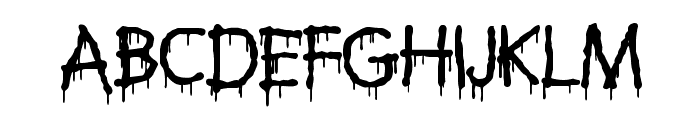 Anti Everything Font LOWERCASE