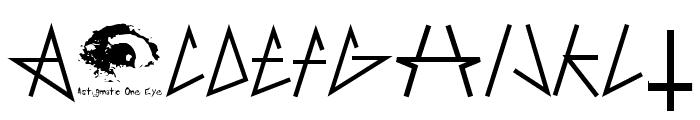 AntiChrist SuperstarSW Font LOWERCASE