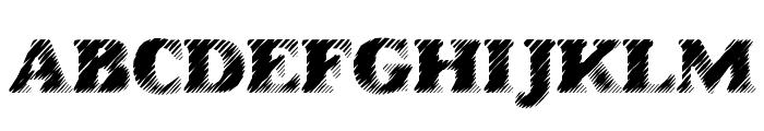 AntiGlare Font UPPERCASE