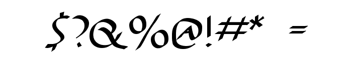 AntiKwa-Bold Font OTHER CHARS