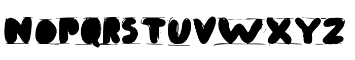 Antibalon Font UPPERCASE