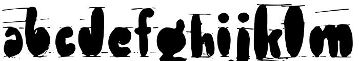 Antibalon Font LOWERCASE