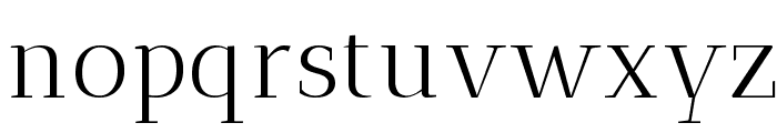 Antic Didone Font LOWERCASE