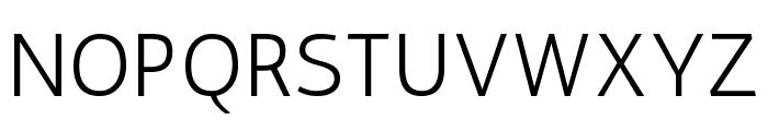 Antic Regular Font UPPERCASE