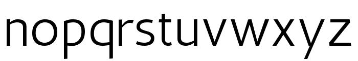 Antic Regular Font LOWERCASE