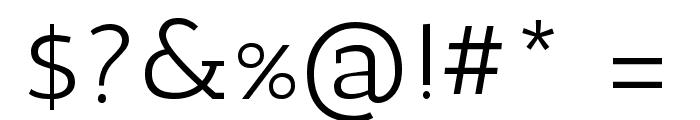 Antic Slab Regular Font OTHER CHARS