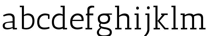 Antic Slab Regular Font LOWERCASE