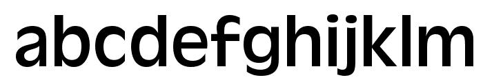 Antigoni Font LOWERCASE