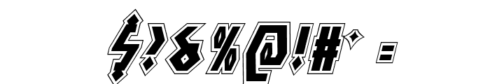 Antikythera Academy Italic Font OTHER CHARS