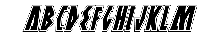 Antikythera Academy Italic Font UPPERCASE