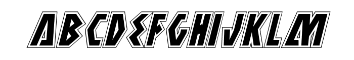 Antikythera Academy Italic Font LOWERCASE
