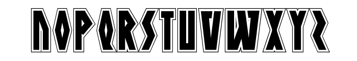 Antikythera Academy Regular Font UPPERCASE