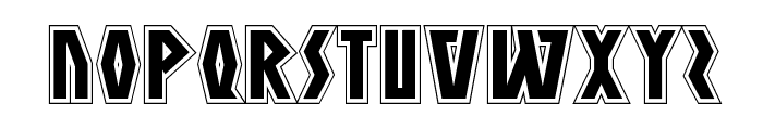 Antikythera Academy Regular Font LOWERCASE
