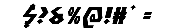 Antikythera Expanded Italic Font OTHER CHARS
