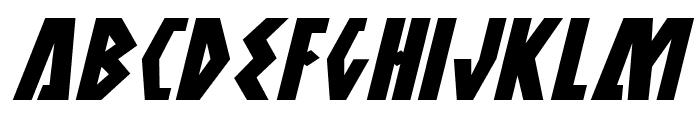 Antikythera Expanded Italic Font UPPERCASE