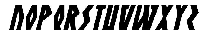 Antikythera Italic Font UPPERCASE