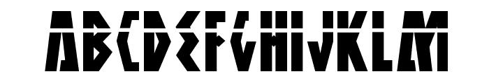 Antikythera Laser Regular Font UPPERCASE