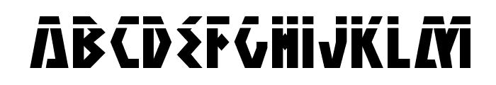 Antikythera Laser Regular Font LOWERCASE