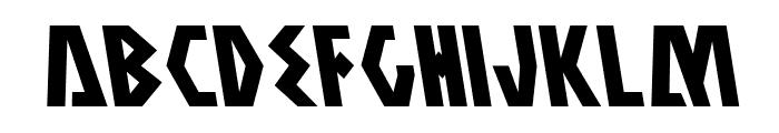 Antikythera Leftalic Font LOWERCASE