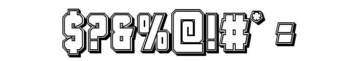 Antilles Engraved Font OTHER CHARS