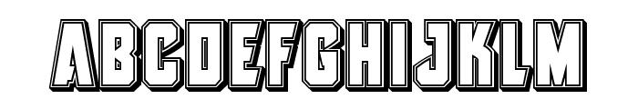 Antilles Engraved Font LOWERCASE