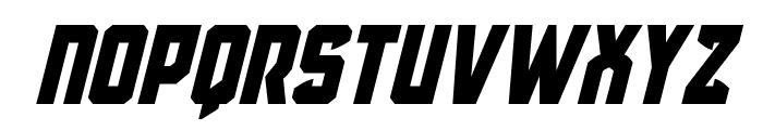 Antilles Italic Font UPPERCASE