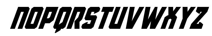 Antilles Super-Italic Font UPPERCASE