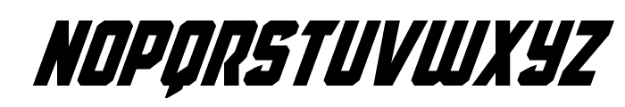 Antilles Super-Italic Font LOWERCASE