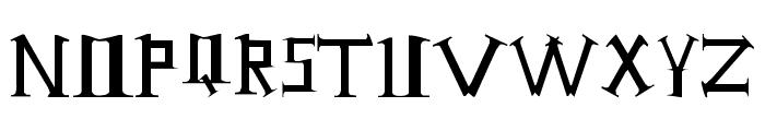 Antioch Font UPPERCASE