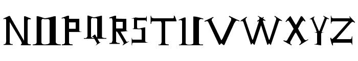 Antioch Font LOWERCASE