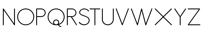 Antipasto ExtraLight Font UPPERCASE