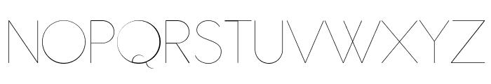 Antipasto Pro Hairline Font UPPERCASE