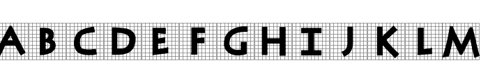 AntiquaInGrid Font UPPERCASE
