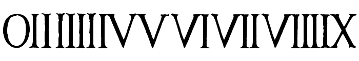 Antique Font by Marta van Eck CU Font OTHER CHARS