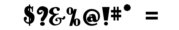 Antique No 14 Regular Font OTHER CHARS