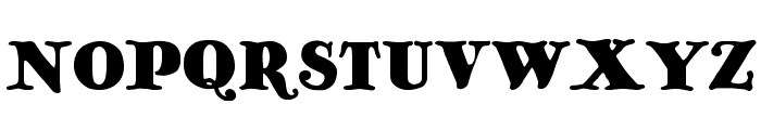 Antique No 14 Regular Font UPPERCASE