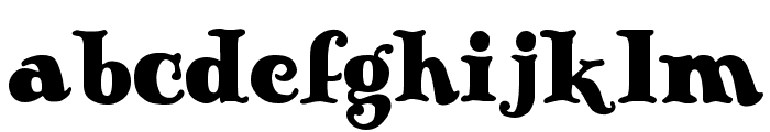 Antique No 14 Regular Font LOWERCASE