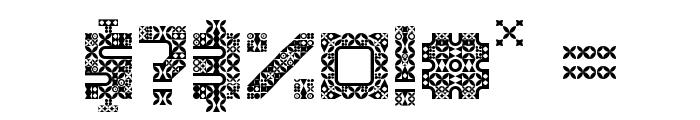 Antique Paleoindonesia Regular Font OTHER CHARS
