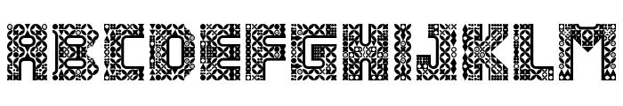 Antique Paleoindonesia Regular Font UPPERCASE