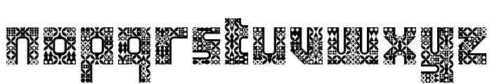 Antique Paleoindonesia Regular Font LOWERCASE