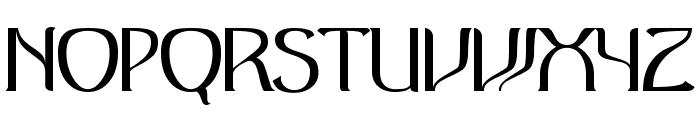 Antique Regular Font LOWERCASE