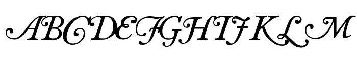 Antique roman swash Font LOWERCASE