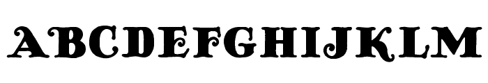 AntiqueOpti-Fourteen Font UPPERCASE