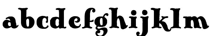 AntiqueOpti-Fourteen Font LOWERCASE
