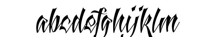 Antlers Demo Font LOWERCASE